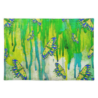 BLUE AND YELLOW MAKES GREEN PLACEMAT