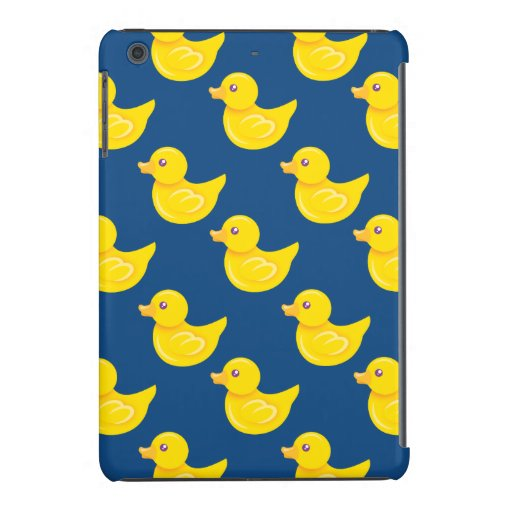 Blue and Yellow Rubber Duck, Ducky iPad Mini Cover
