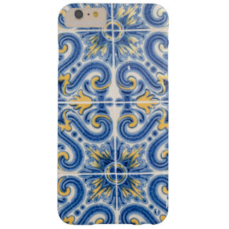 Blue and yellow tile, Portugal Barely There iPhone 6 Plus Case