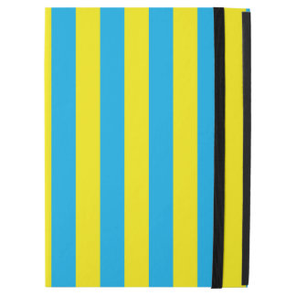 """Blue and Yellow Vertical Stripes iPad Pro 12.9"""" Case"""