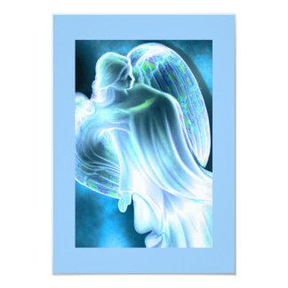 Blue Angel Comforting Prayer Card