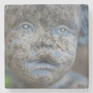 Blue Angel Stone Coaster