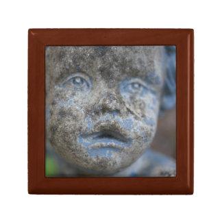 Blue Angel Tile Wooden Box