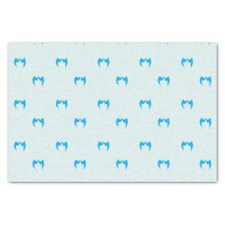 Blue Angel Wings Tissue Paper