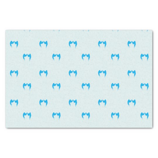 Blue Angel Wings Tissue Paper