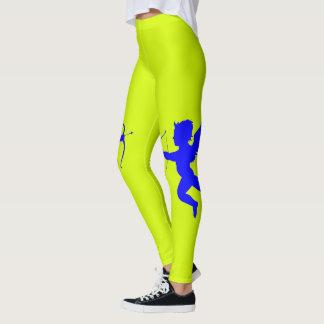 Blue Angel Yellow Leggings