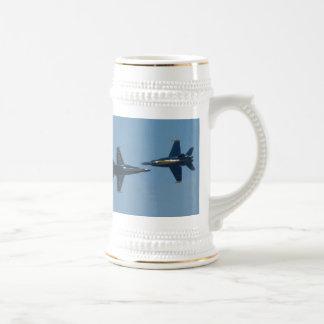 Blue Angels Beer Stein