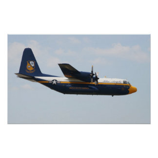 Blue Angels C-130 - Fat Albert Poster