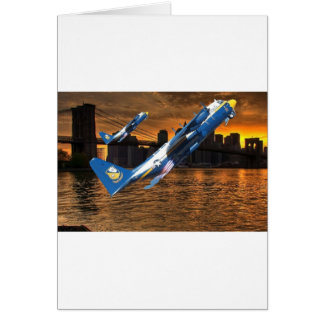 BLUE ANGELS C-130 IN JATO GREETING CARDS