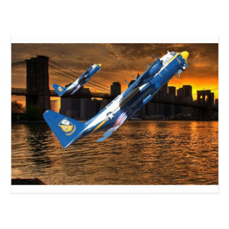 BLUE ANGELS C-130 IN JATO POSTCARD