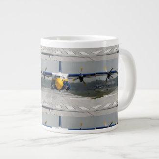 BLUE ANGELS C-130 LARGE COFFEE MUG
