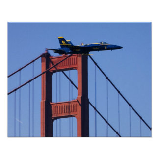 Blue Angels flyby during 2006 Fleet Week 3 Poster
