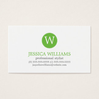 Blue Aqua Green Zigzag Ikat Pattern Business Card