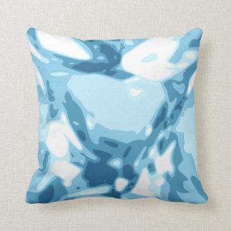 Blue Aquamarine Diamond Gemstone / Jewel Pillow