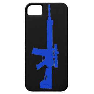 Blue AR-15 iPhone 5 Universal Case iPhone 5 Case