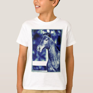 Blue Arabian Digital Art T-Shirt