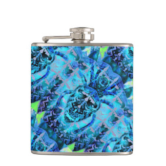 Blue Arachnid Flasks