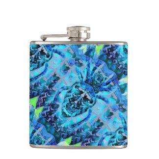 Blue Arachnid Hip Flask