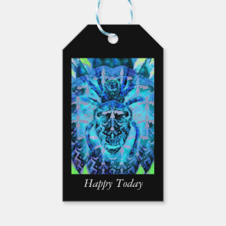 Blue Arachnid Pack Of Gift Tags