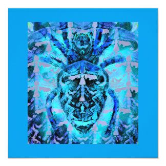 Blue Arachnids Card