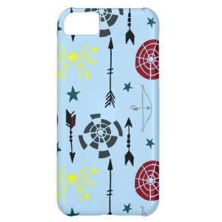 Blue Archery Bows Arrows and Targets iPhone 5C Case