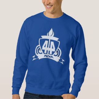 BLUE AREA 44 CREW NECK SWEATSHIRT