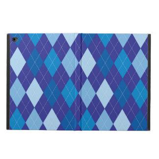 Blue argyle pattern powis iPad air 2 case
