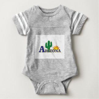blue arizona baby bodysuit