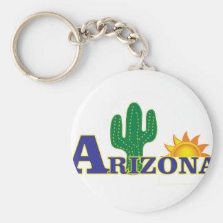 blue arizona keychain