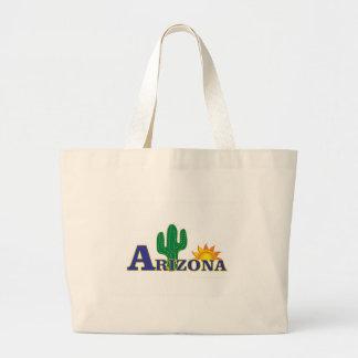 blue arizona large tote bag
