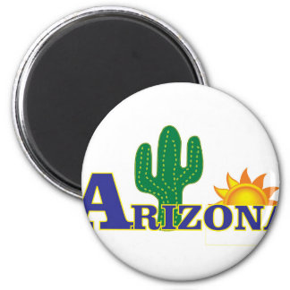 blue arizona magnet