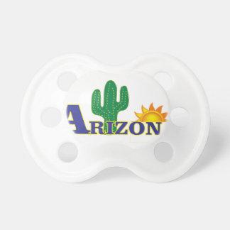blue arizona pacifier
