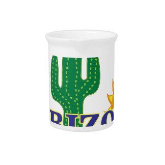blue arizona pitcher