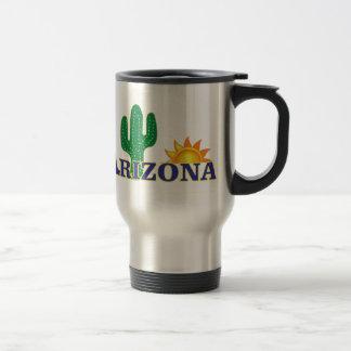 blue arizona travel mug