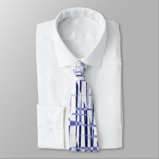 Blue Art Deco Tie