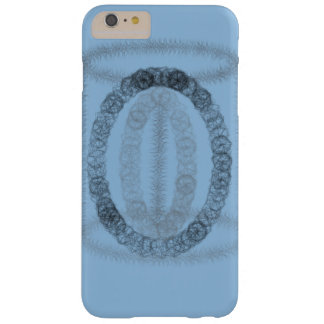 Blue artsy phonecase barely there iPhone 6 plus case