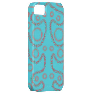 Blue artsy phonecase iPhone 5 covers