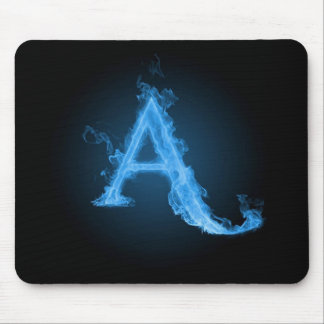 Blue atheist A Mouse Pad