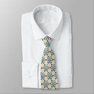 Blue Atoms Design Necktie