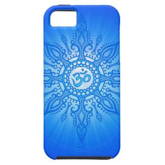Blue Aum Star iPhone 5 Cover