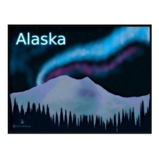 Blue Aurora Postcard