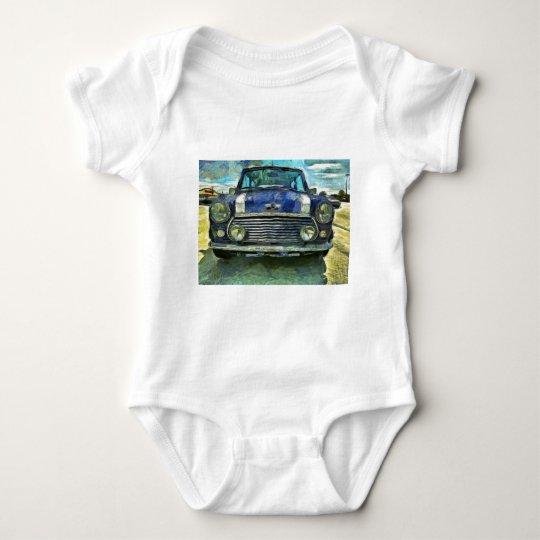 Blue Austin Mini Baby Bodysuit