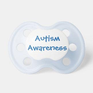 Blue Autism Awareness Pacifier 0-6mths BooginHead Pacifier