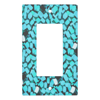 Blue Avalanche light switch cover single rocker