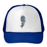 Blue Aztec Feather Trucker Hat