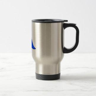 Blue baby blankie coffee mug