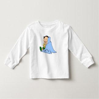 Blue baby blankie t-shirt