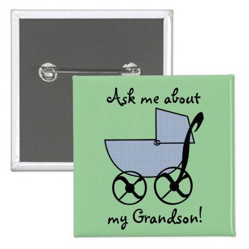 Blue Baby Buggy Flair Button