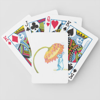blue baby bunny poker deck