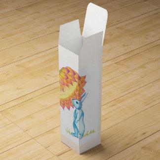 blue baby bunny wine box